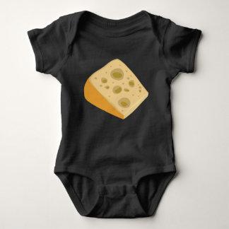Glitch Food cheese very stinky Baby Bodysuit