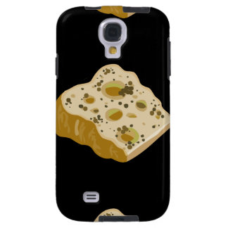 Glitch Food cheese very very stinky Galaxy S4 Case