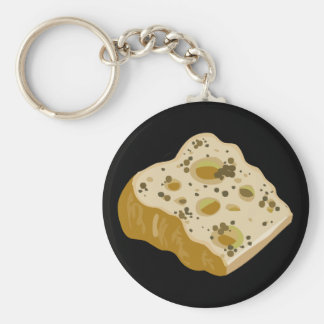 Glitch Food cheese very very stinky Key Ring