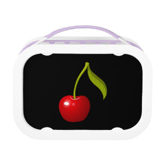 Glitch Food cherry Lunch Box