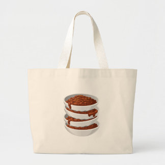 Glitch Food chillybusting chili Large Tote Bag