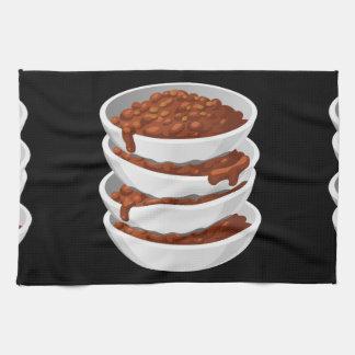 Glitch Food chillybusting chili Tea Towel
