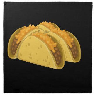 Glitch Food cold taco Napkin