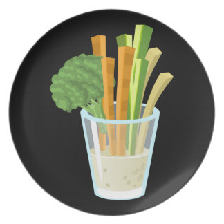 Glitch Food common crudites Dinner Plates