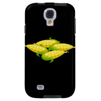 Glitch Food corn Galaxy S4 Case