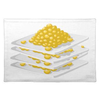 Glitch Food corn off the cob Placemat