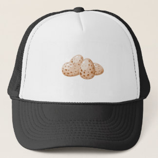 Glitch Food egg plain Trucker Hat