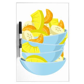 Glitch Food exotic fruit salad Dry Erase Board