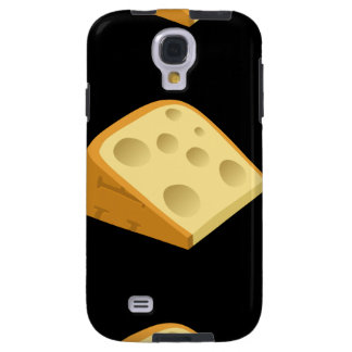 Glitch Food fancy cheese Galaxy S4 Case
