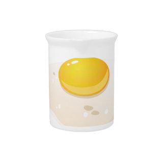 Glitch Food fried egg Pitcher