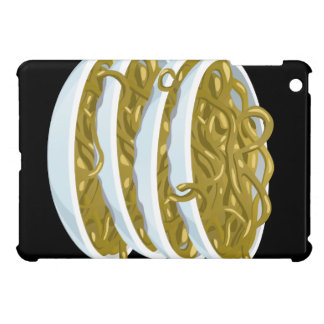 Glitch Food fried noodles iPad Mini Cover