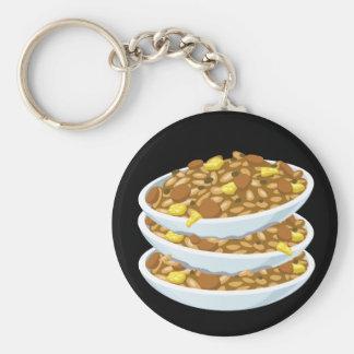 Glitch Food fried rice Key Ring