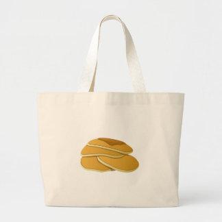 Glitch Food gammas pancakes Large Tote Bag