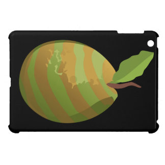 Glitch Food guava striped iPad Mini Cover