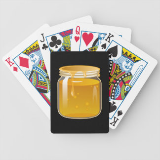 Glitch Food honey Bicycle Playing Cards