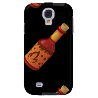 Glitch Food hot n fizzy sauce Galaxy S4 Case