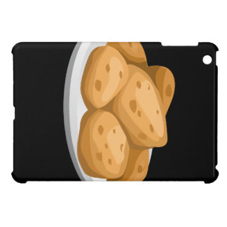 Glitch Food hot potatoes Case For The iPad Mini