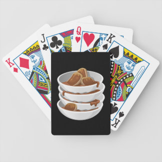 Glitch Food ixstyle braised meat Bicycle Playing Cards
