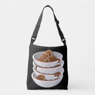 Glitch Food ixstyle braised meat Crossbody Bag