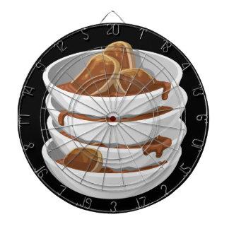 Glitch Food ixstyle braised meat Dartboard With Darts