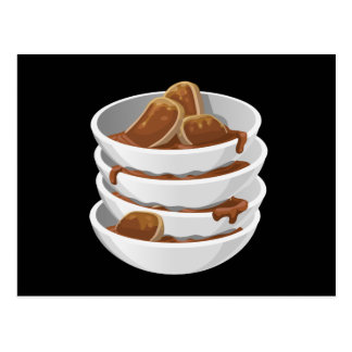 Glitch Food ixstyle braised meat Postcard