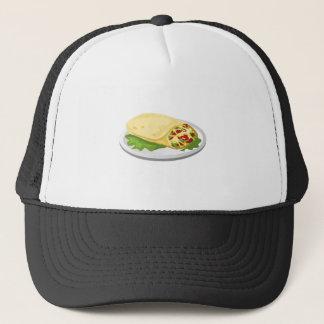 Glitch Food kind breakfurst burrito Trucker Hat