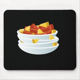 Glitch Food lazy salad Mouse Pad