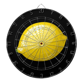 Glitch Food lemon Dartboard