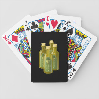 Glitch Food olive oil Bicycle Playing Cards