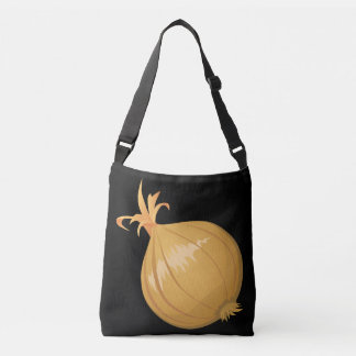Glitch Food onion Crossbody Bag