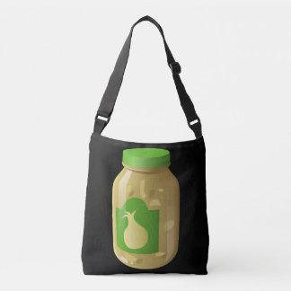 Glitch Food onion sauce Crossbody Bag