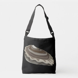 Glitch Food oysters ocean Crossbody Bag