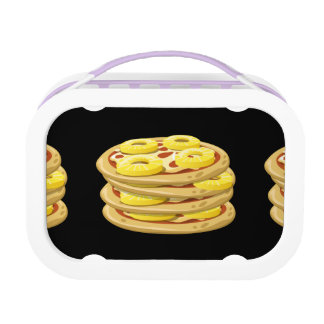 Glitch Food papl upside down pizza Lunch Box