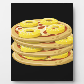 Glitch Food papl upside down pizza Plaque