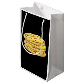 Glitch Food papl upside down pizza Small Gift Bag