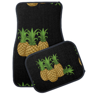 Glitch Food pineapple Car Mat