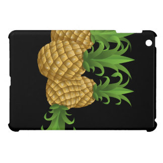 Glitch Food pineapple iPad Mini Cases