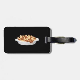 Glitch Food pottine Luggage Tag