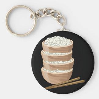 Glitch Food proper rice Key Ring