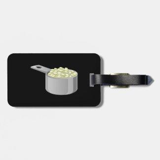 Glitch Food rice Luggage Tag