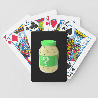 Glitch Food secret sauce Bicycle Playing Cards