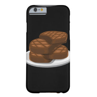 Glitch Food simple bbq Barely There iPhone 6 Case