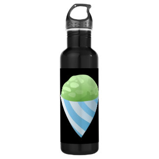 Glitch Food sno cone green 710 Ml Water Bottle