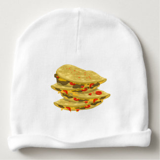 Glitch Food spicy quesadilla Baby Beanie
