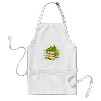 Glitch Food spinach salad Standard Apron