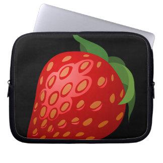 Glitch Food strawberry Laptop Sleeve