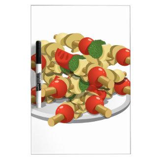 Glitch Food super veggie kebabs Dry Erase Board