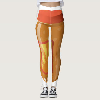 Glitch Food sweet n sour sauce Leggings