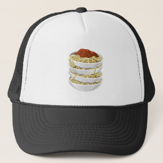 Glitch Food tasty pasta Trucker Hat