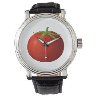 Glitch Food tomato Wristwatch